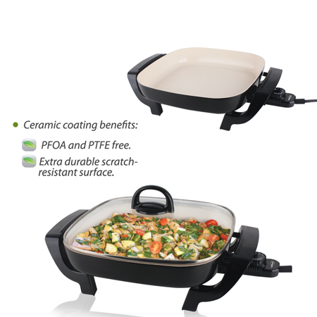 Premium Appliances 12 Electric Skillet