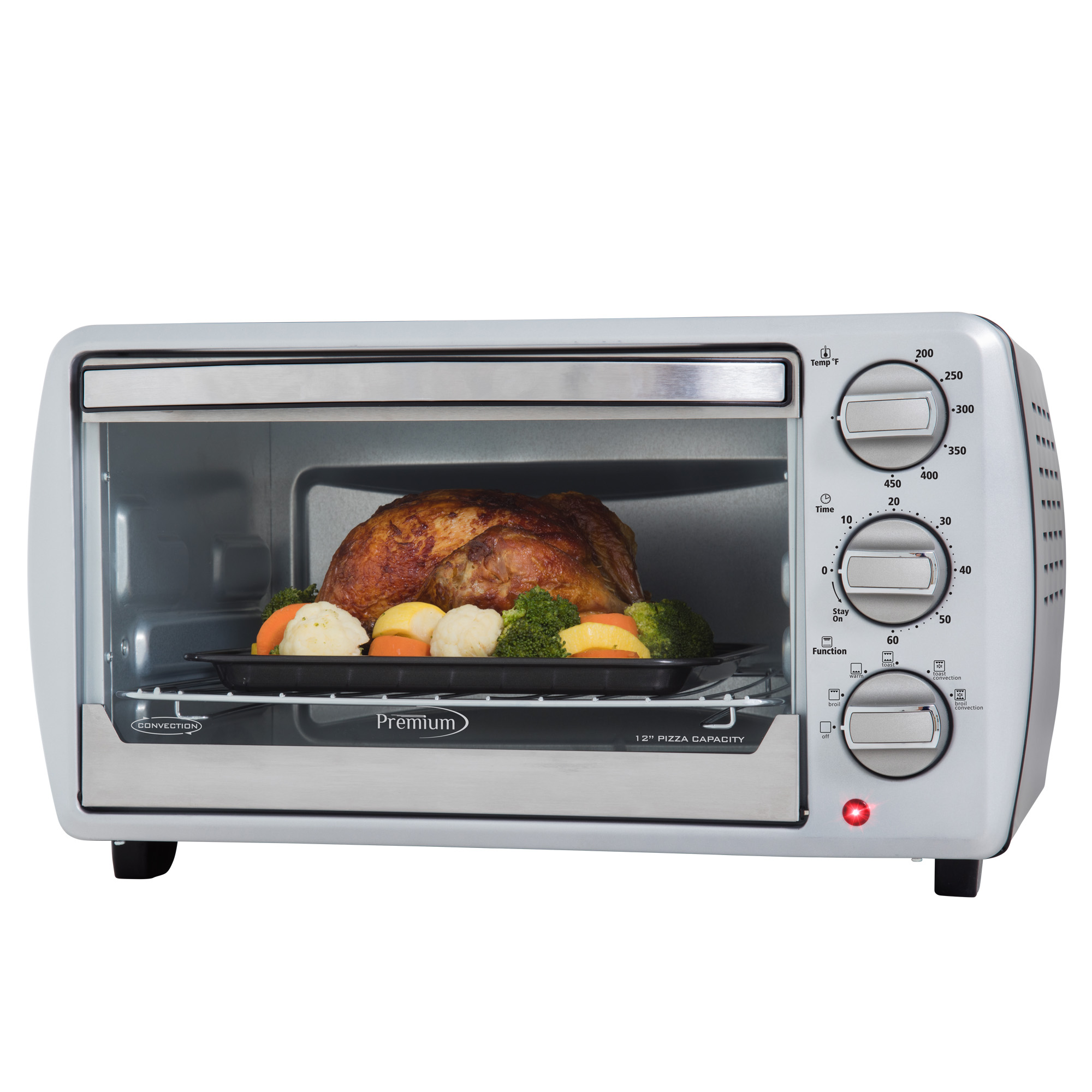 Premium Appliances 6 Slice Convection Toaster Oven