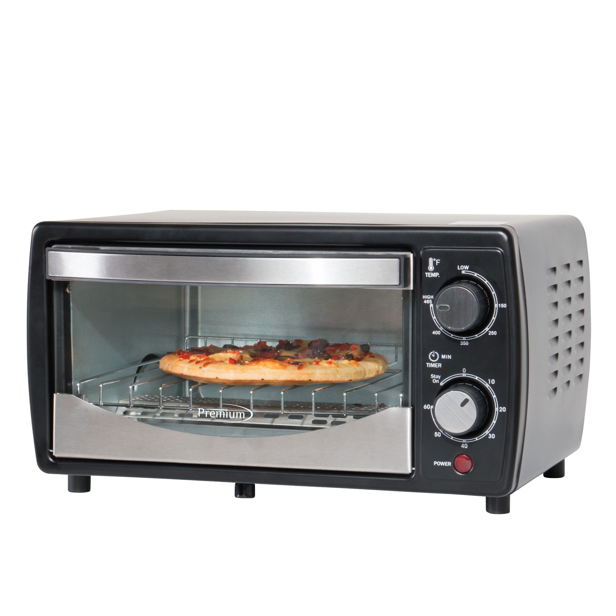 Premium Appliances 4 Slice Toaster Oven