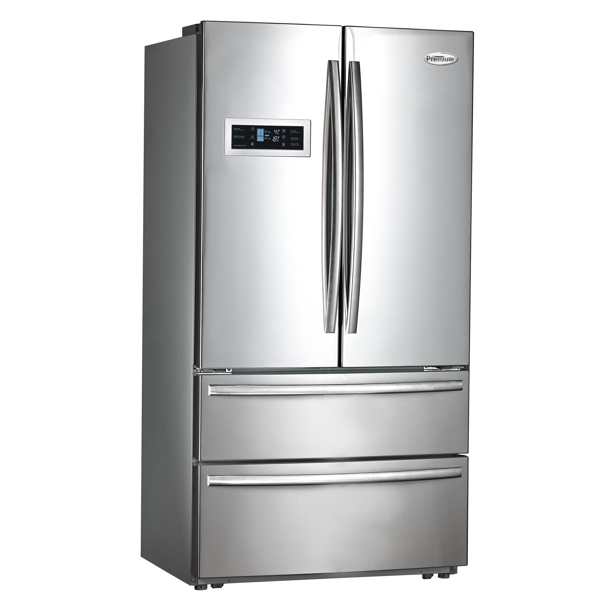 premium appliances 20 8 ft french door refrigerator. Black Bedroom Furniture Sets. Home Design Ideas