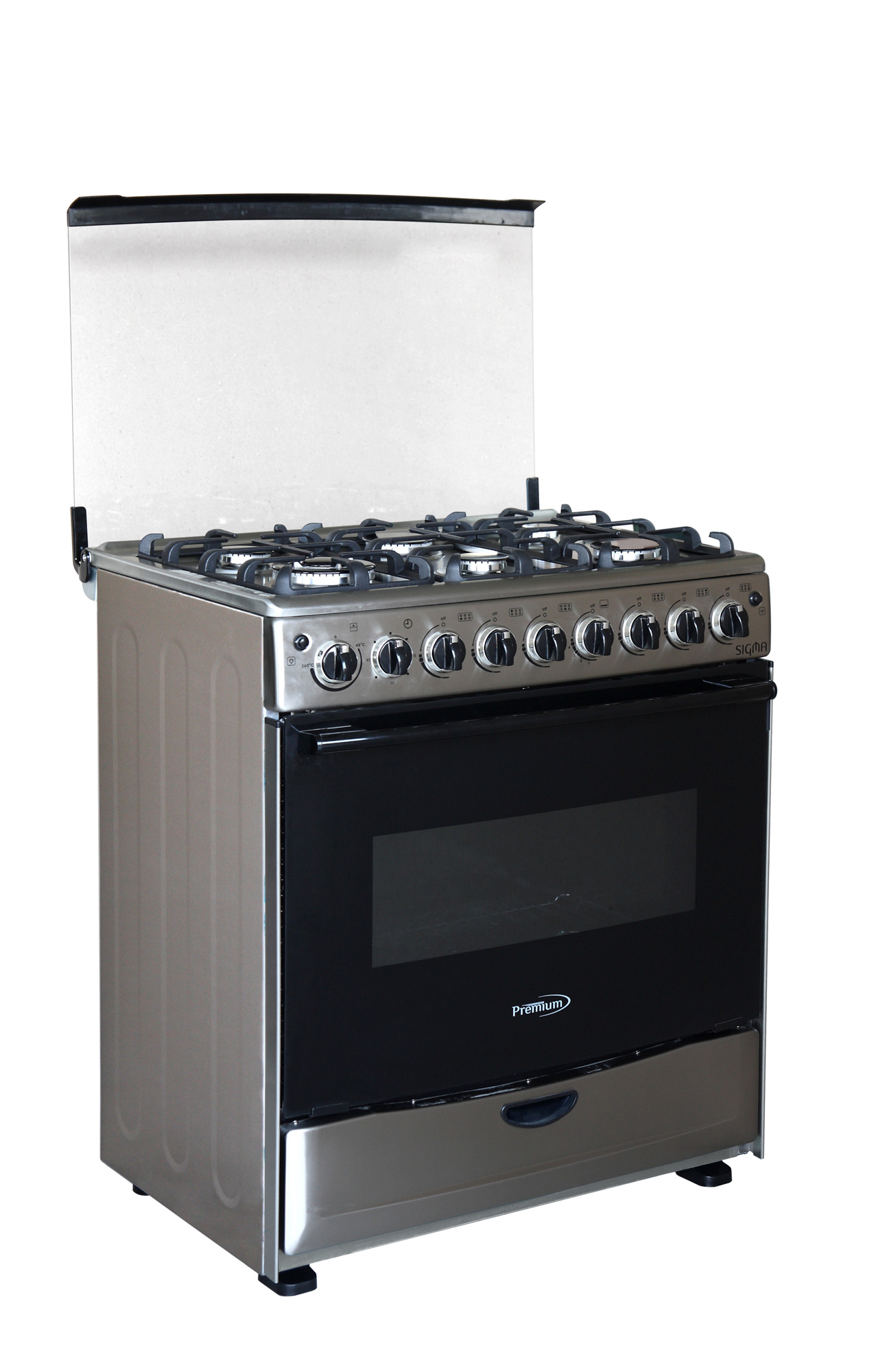 Premium Appliances 6 Burner Gas Stove