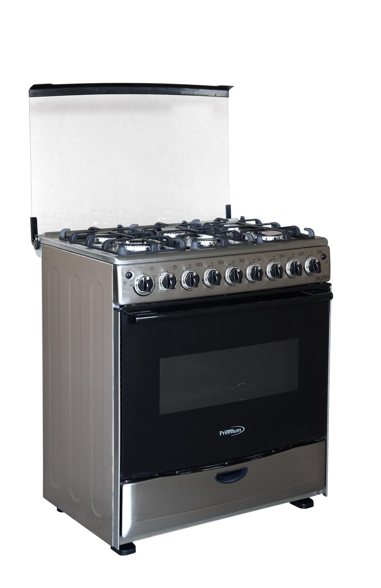 Premium Appliances 6 Burner Gas Stove